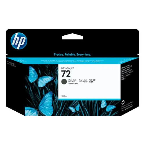 HP 72 Designjet Ink Cartridge - 130 ml Matte Black