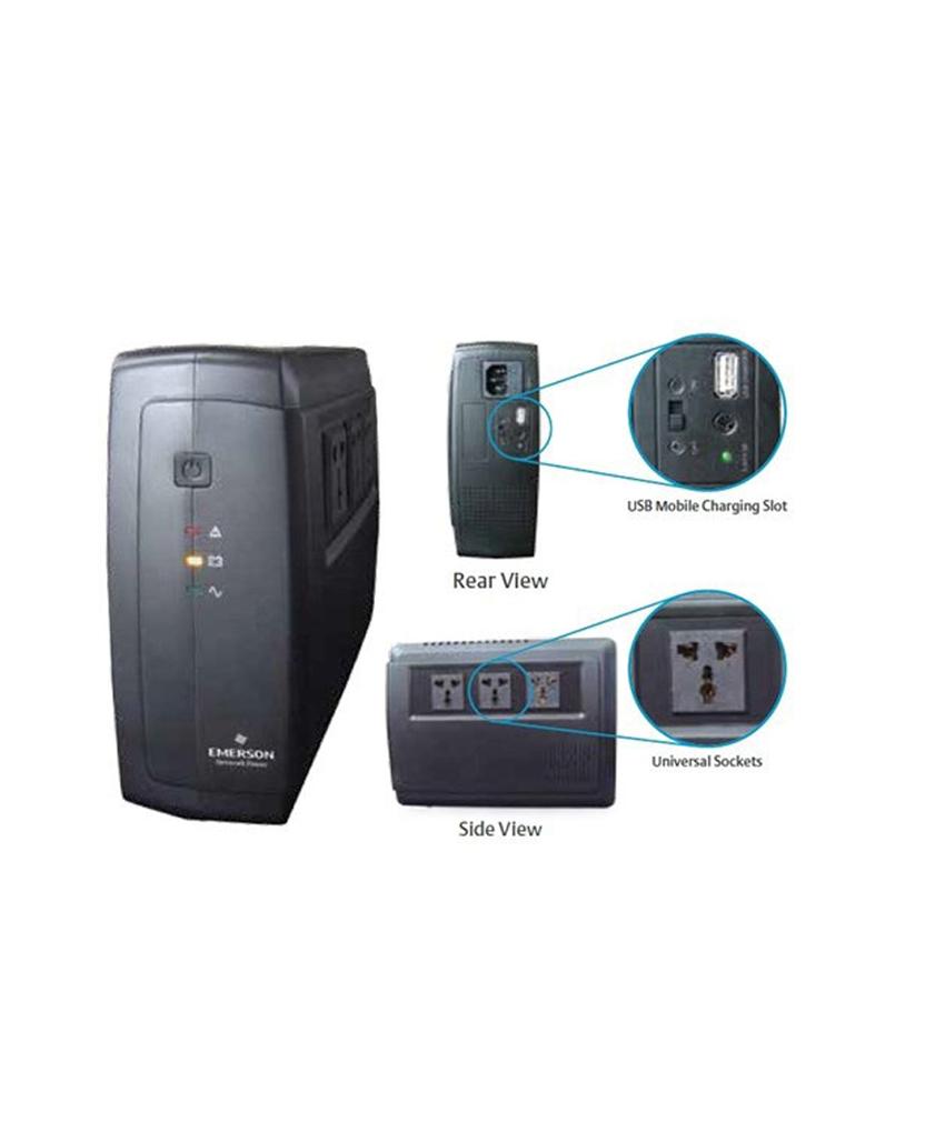 Liebert ITON 600VA/360Watt 230V AVR universal socket