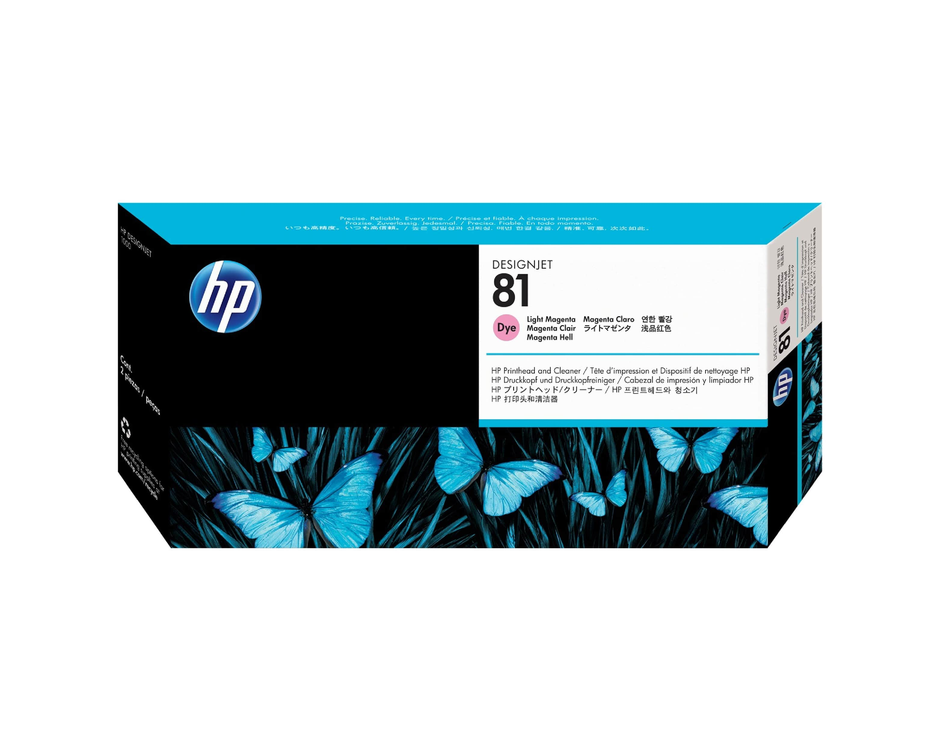 HP 81 DesignJet Printhead & Cleaner - Light Magenta