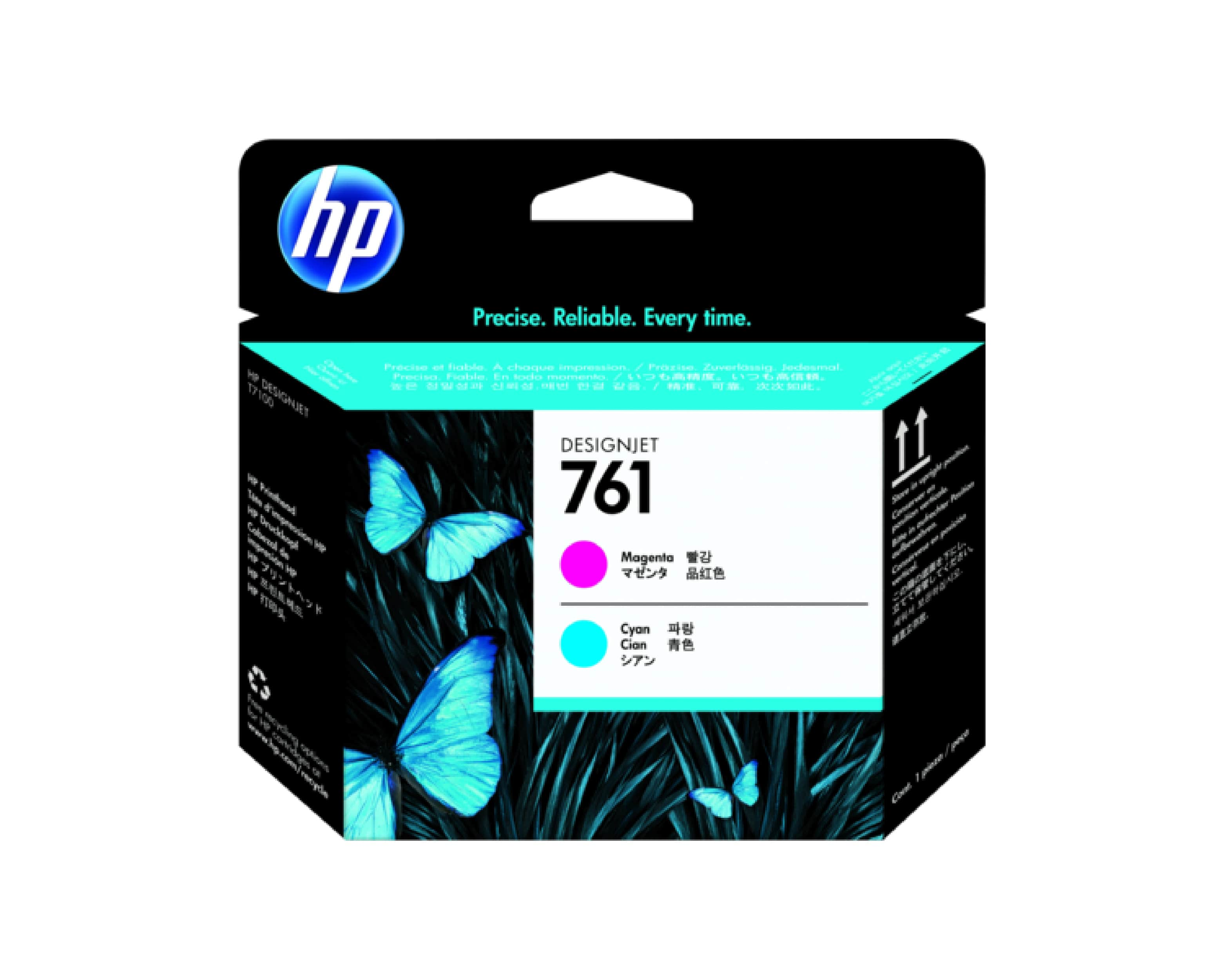 HP 761 DesignJet Printhead - Magenta & Cyan