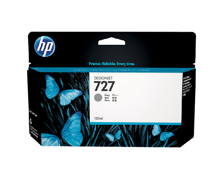 HP 727 Designjet Ink Cartridge - 130 ml Gray