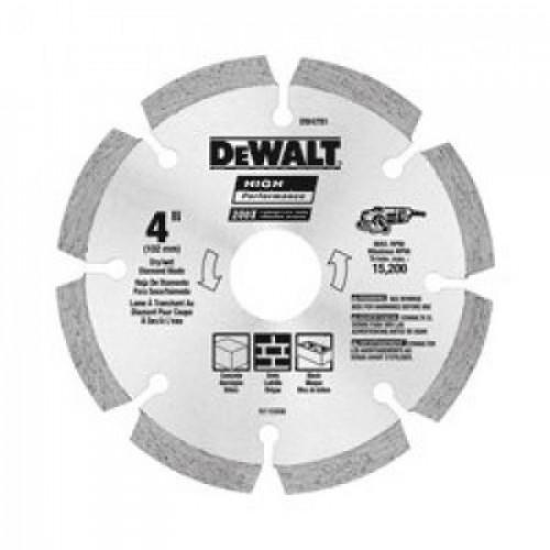 """DeWalt DW4781 - 105mm - Segmented Rim Mata Potong Keramik / Beton 4"""""""
