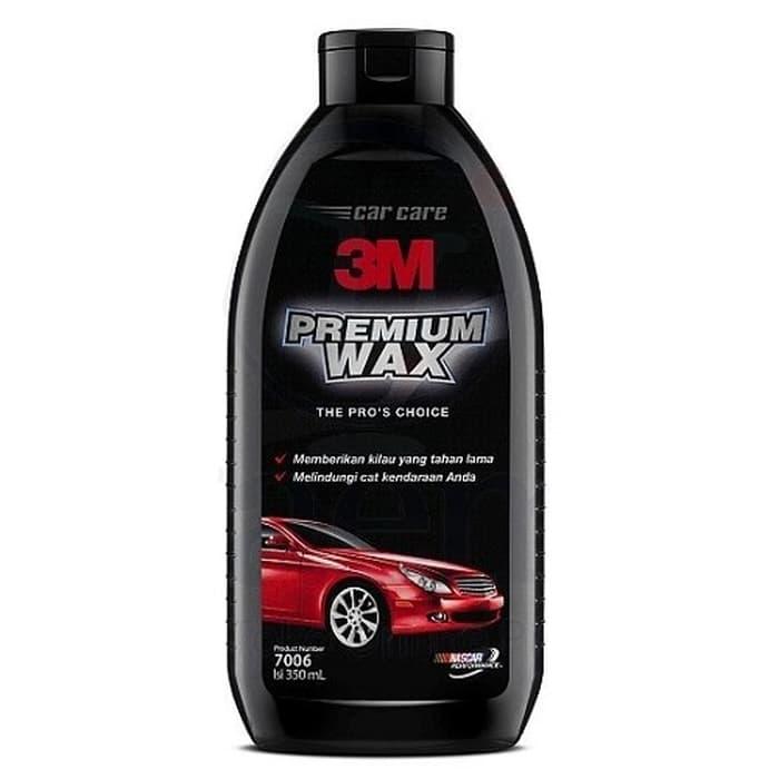 3M 350 ML Premium Wax - Pengkilap Cat Kendaraan